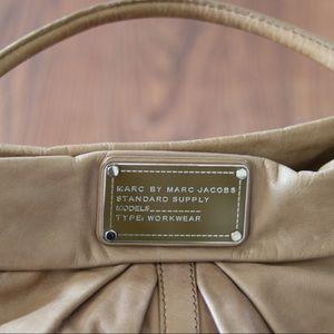 Marc by Marc Jacobs tan / lt.brown top handle bag